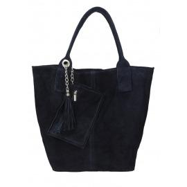 Granatowa torba